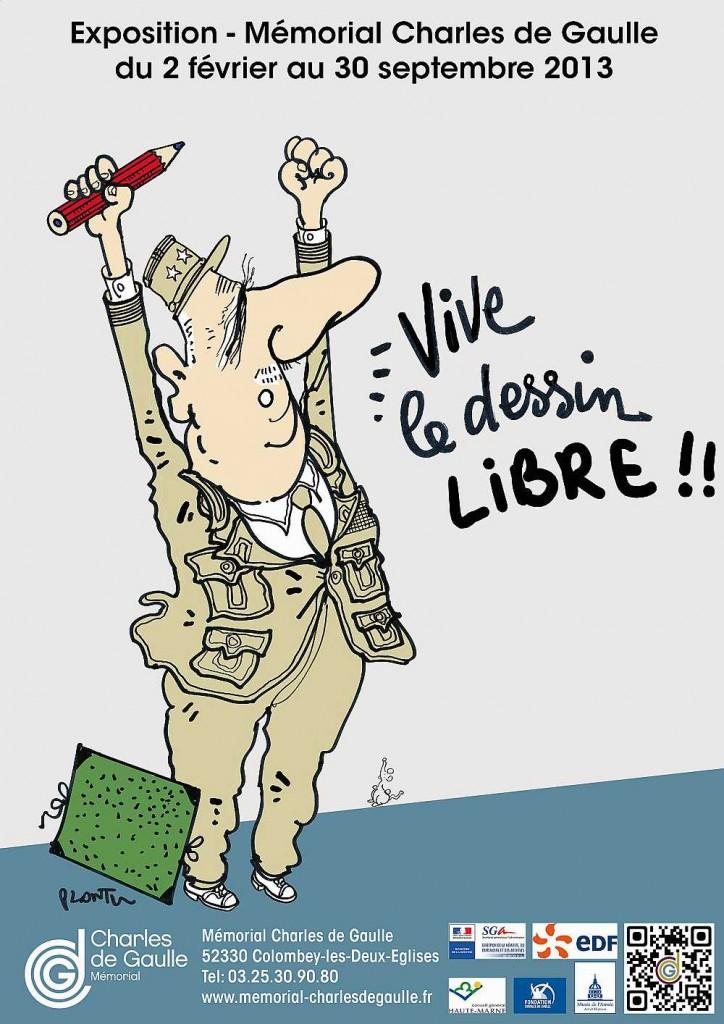 Le Général de Gaulle en dessins