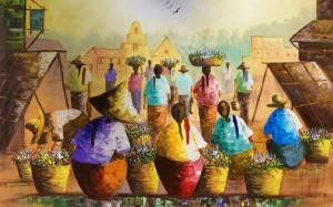 La peinture comme l'interprétation de l'imaginaire ou la réinterprétation du réel
