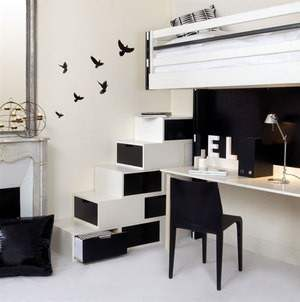 d corer un petit appartement. Black Bedroom Furniture Sets. Home Design Ideas