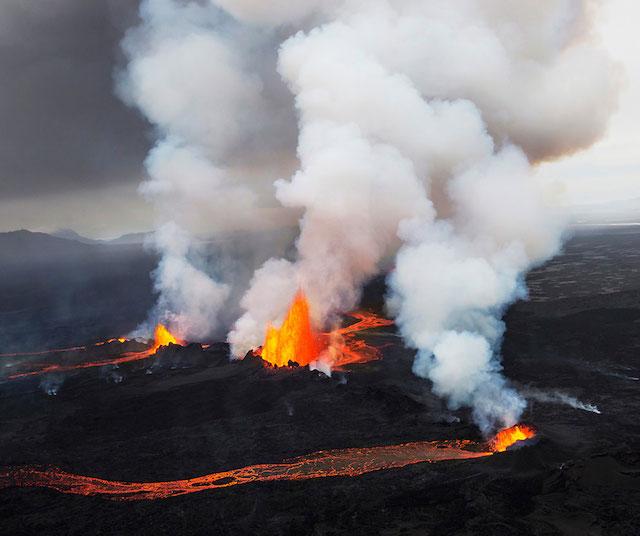 Bárðarbunga, Holuhraun, Islande