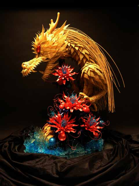 dragon sugar art