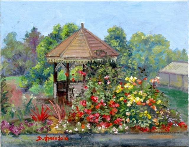 Gazebo with flowers RTP_0