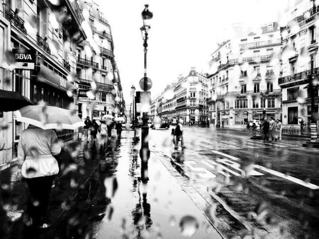 Jour de pluie de Sebastien Le Gallo Photographie appliquant le védutisme