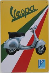 Plaque vintage : Vespa