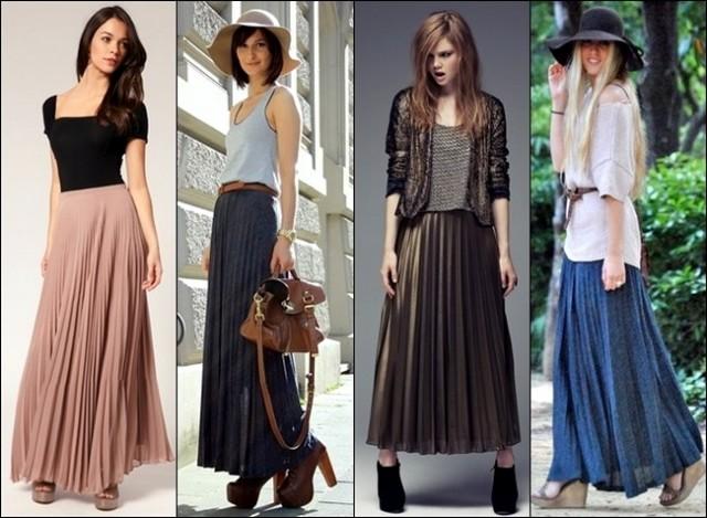 1000 façons de porter sa jupe longue