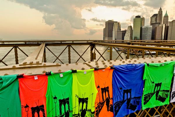 Tableau deco Plexiglas New York Brooklyn Bridge