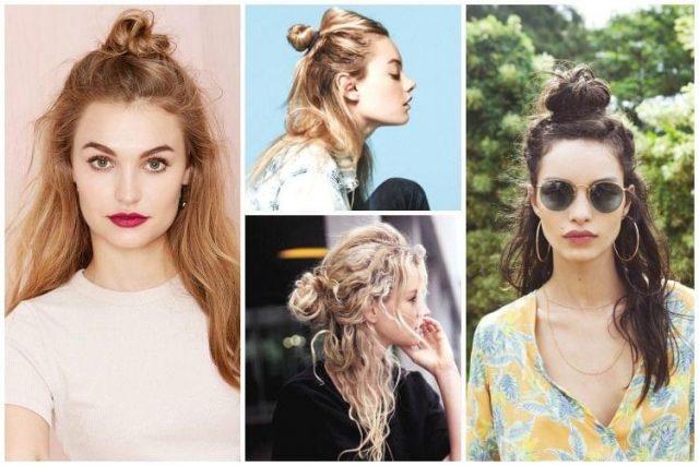 half-bun-coiffure-ete-2015-153ac72a308edce73bda70d66613b36a