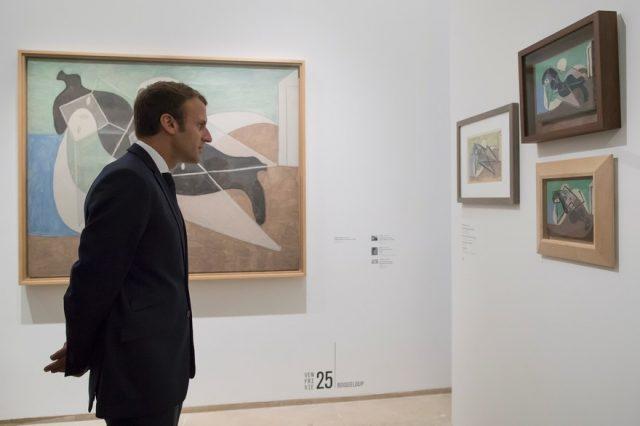 Un Picasso à l'Élysée ? « Ce serait formidable » s'exclame Macron