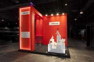 stand d'exposition design et artistique