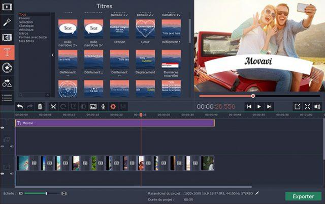 Movavi Video Editor, le logiciel de montage photo avec musique