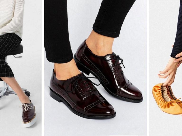 Chaussures Plates Rester Stylé En Portant Comment Des T5ul3F1KJc
