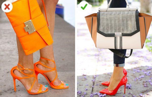 sac avec un ton discret, à assortir avec des chaussures colorées
