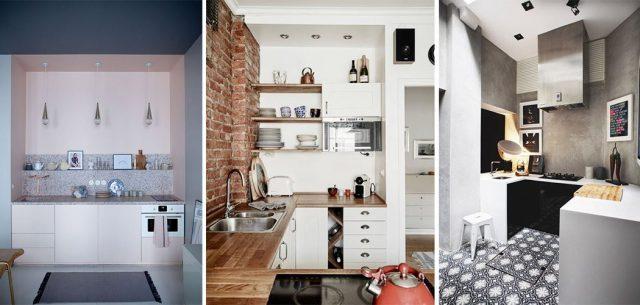 Quelques idées pour meubler une petite cuisine