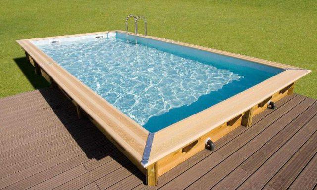 piscine hors sol bois en kit