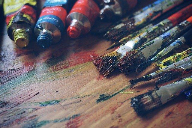 nettoyer atelier de peinture