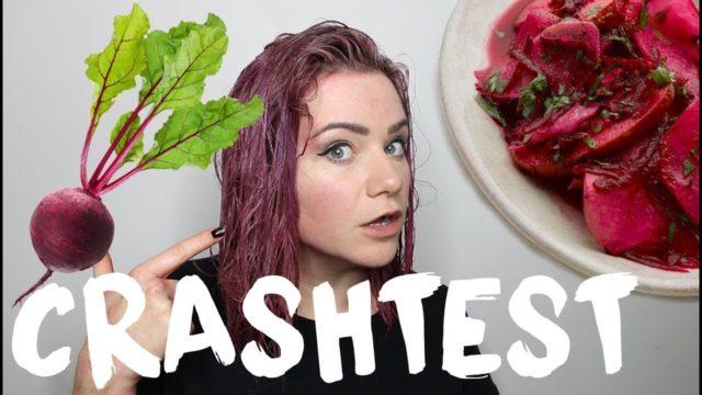 Jus de betterave et/ou de carotte pour avoir des cheveux rouges
