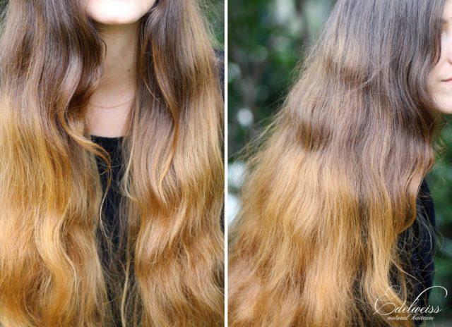 La camomille ou le curcuma pour des cheveux blonds