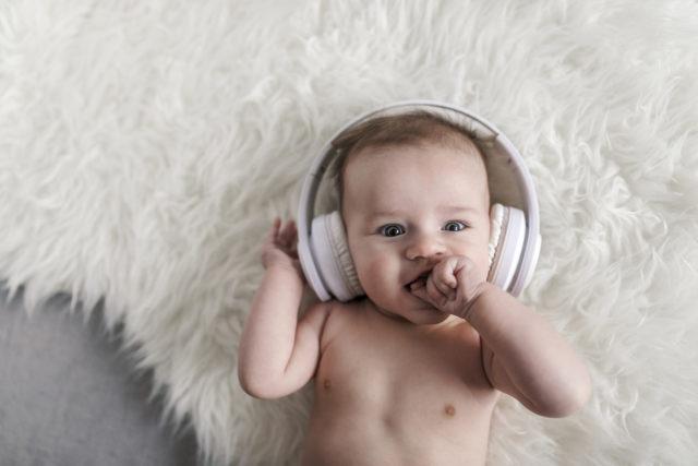 Les bienfaits de la musique chez un nourrisson
