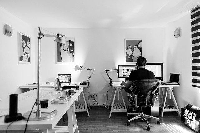 Travailler à la maison : aménager un bureau stylé