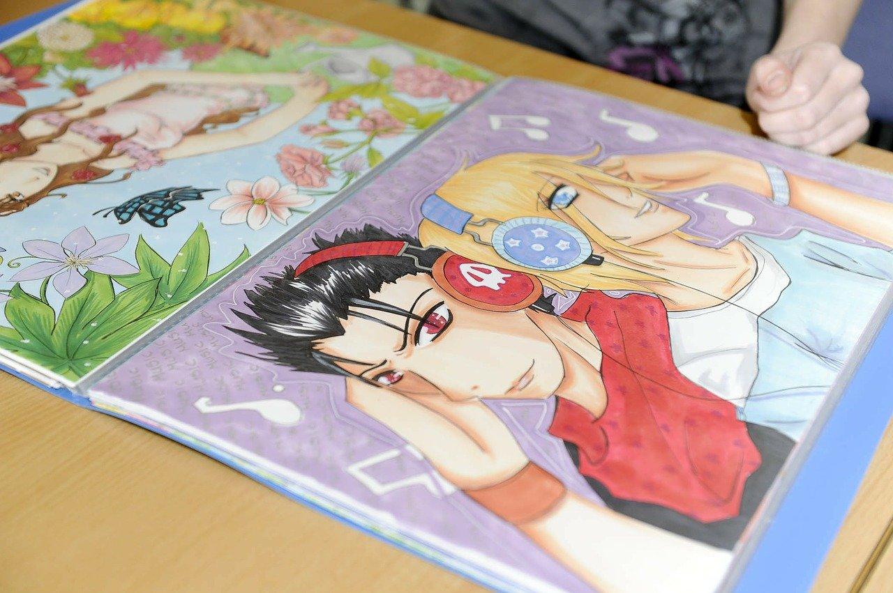 objets mangas