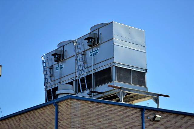 climatisation sur toiture